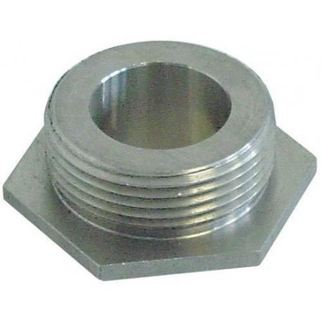BONDE DECHARGE INOX ORIGINE DIHR - QUQ7551