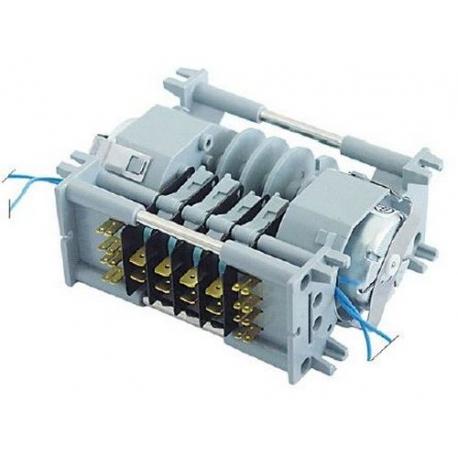 PROGRAMMATEUR CYCLE DE 1 A 20 MIN 230V 50/60HZ 4CAMES 2 MOTE - RQ671