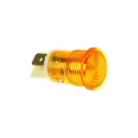 LAMPE TEMOIN BLANC 230V 12MM - RQ657