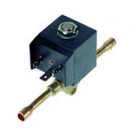 ELECTROVANNE CASTEL GAZ CHAUD A SOUDER 2VOIES 220-230V AC - XNQ45