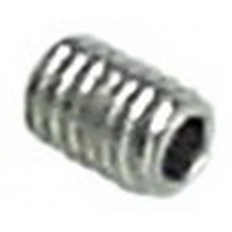 TIQ67490-VIS POINTEAU M4 L:5MM INOX