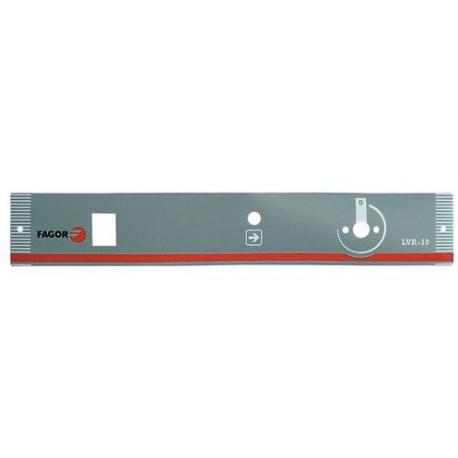 AUTOCOLLANT PANNEAU COMMANDE - TIQ68509