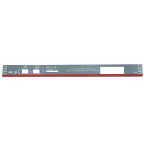 AUTOCOLLANT PANNEAU COMMANDE - TIQ68518