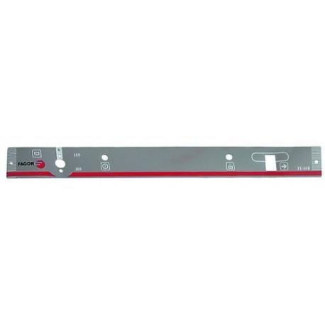 AUTOCOLLANT PANNEAU COMMANDE - TIQ68510