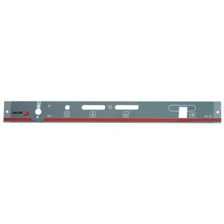 AUTOCOLLANT PANNEAU COMMANDE - TIQ68513