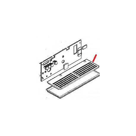 GRILLE BASSINELLE SPRINT 85/95 ORIGINE SAN MARCO - FZQ478