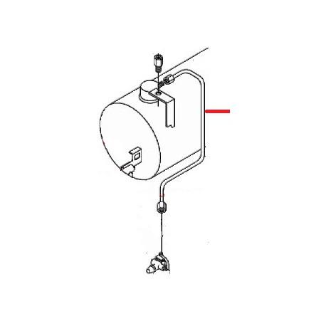 TUBE CHAUDIERE-REGUL GAZ 105 ORIGINE SAN MARCO - FZQ7506