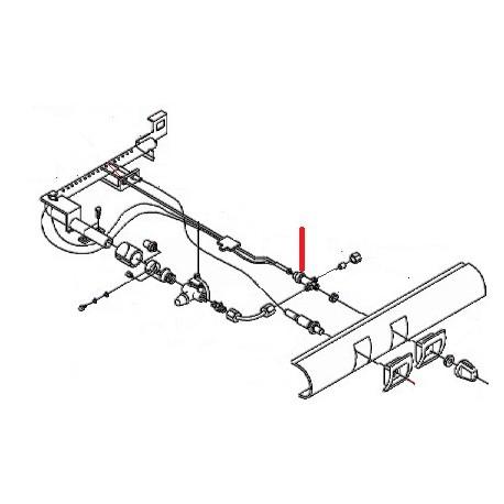 ROBINET GAZ 105 ORIGINE SAN MARCO - FZQ7507