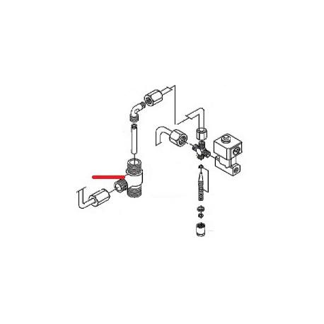 RACCORD EN T MIXER ORIGINE SAN MARCO - FZQ7542
