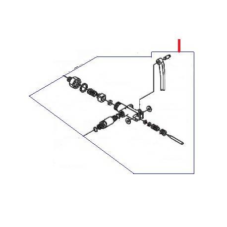 ROBINET ENTREE EAU COMPLET 105 ORIGINE SAN MARCO - FZQ7543