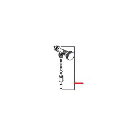 ROBINET EAU COMPLET GRIS SERIE 105 HIGH ORIGINE SAN MARCO - FZQ7695