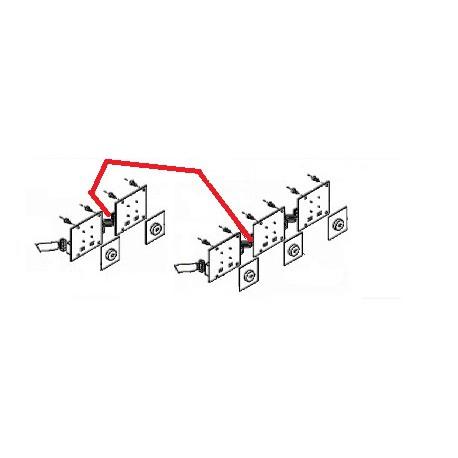 CABLE LIAISON 10PIN L15CM 105 ORIGINE SAN MARCO - FZQ7691