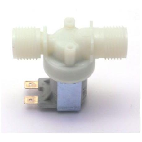 TIQ9272-ELECTROVANNE EAU 12V ENTREE 1/2M SORTIE 1/2M TMAXI 90°C PRES