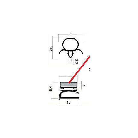 CADRE BLANC 570X520 AXE/AXE - TIQ63917