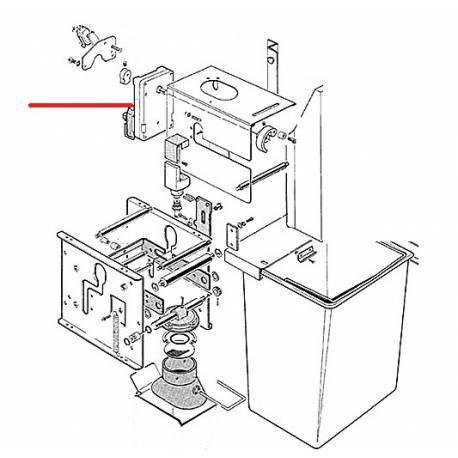 MOTEUR RPM10 24DC TEA + VIS - EQN6764