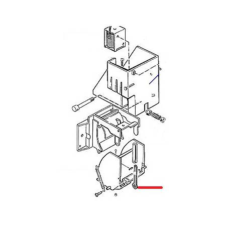 TIGE ELECTRO-AIMANT ORIGINE - EQN6164