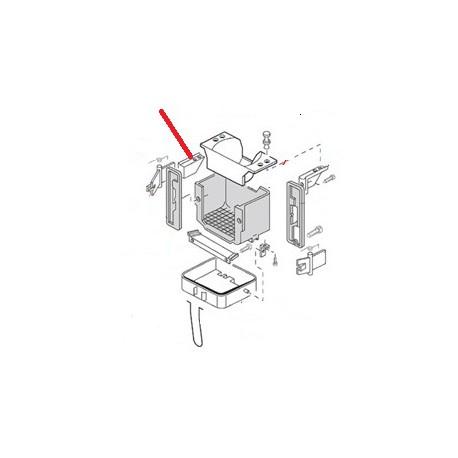 ETRIER DROIT GRIS 153147 USINE - EQN6127