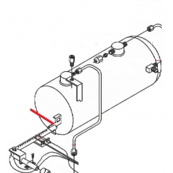 SUPPORT RAMPE GAZ 3/4 GR ORIGINE SAN MARCO