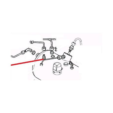 TUBE ALIMENTATION ELECTROVANNE ORIGINE CARIMALI - PNQ254