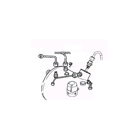 TUBE MANO-PRESSOSTAT ORIGINE CARIMALI - PNQ265