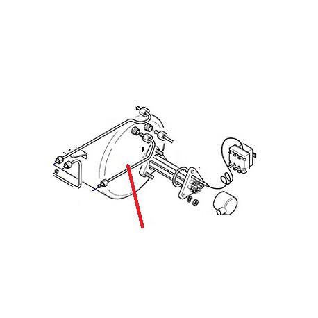 TUBE ALIMENTATION MANOMETRE ORIGINE CARIMALI - PNQ224