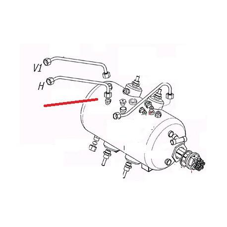 TUBE ROBINET VAPEUR ECO 7L ORIGINE CARIMALI - PNQ368