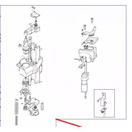 GROUPE COMPLET AUTO. F3 GAUCHE ORIGINE CARIMALI - PNQ328