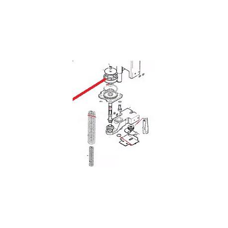 PLAQUE ANTI-ROTATION ORIGINE CARIMALI - PNQ345