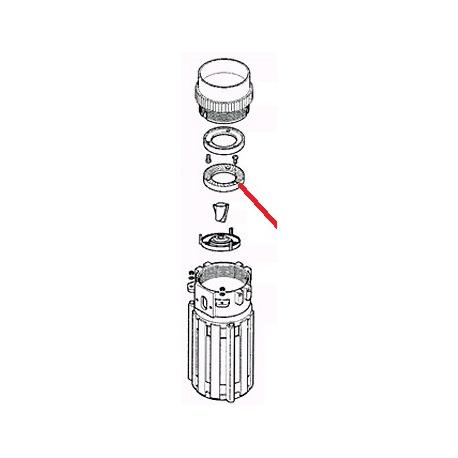 TUBE DECHARGE ELECTROVANNE ORIGINE CARIMALI - PNQ488