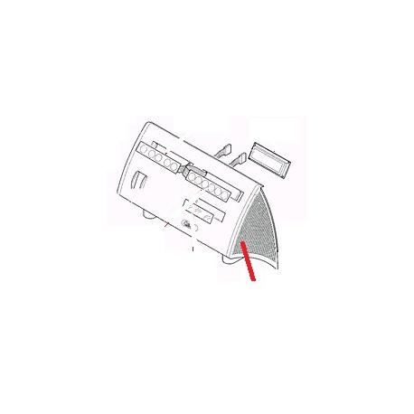 FACADE CLAVIER NOIRE SERIE F ORIGINE CARIMALI - PNQ435