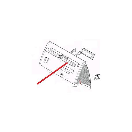 FACADE CLAVIER GRIS SERIE F ORIGINE CARIMALI - PNQ437