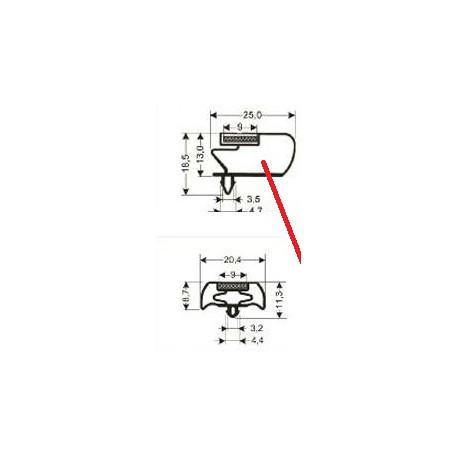 CADRE GRIS 625X488MM HORS TOUT - TIQ63927