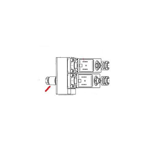 TUBE REGULATION DROIT CAPUCINO ORIGINE UNIC - HQ6672