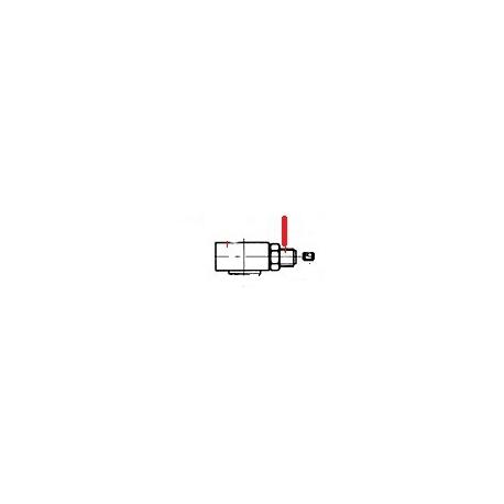 RACCORD 1/8M-1/8M POUR GICLEUR ORIGINE UNIC - HQ6680