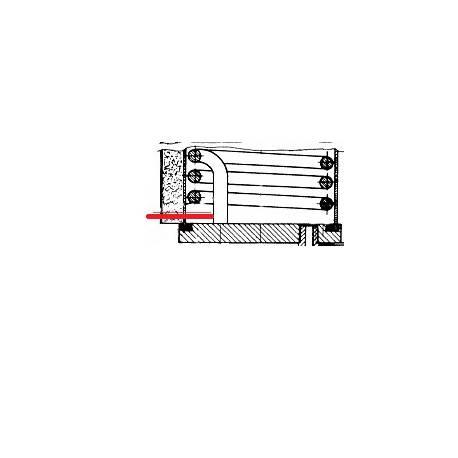 RESISTANCE 1700W 230V PONY ORIGINE UNIC - HQ6781