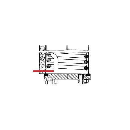 RESISTANCE 2500W 230V PONY ORIGINE UNIC - HQ6782