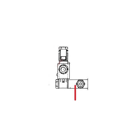 RACCORD 3 VOIES 1/8FX1/8FX1/4M ORIGINE UNIC - HQ6716