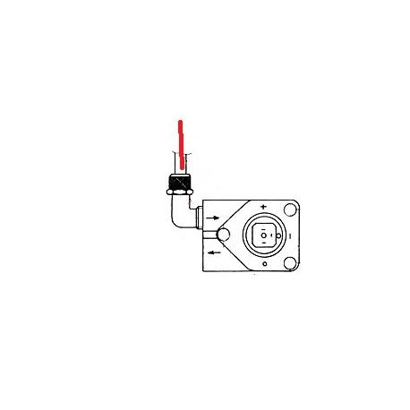 TUBE RILSAN L250MM POMPE/DOSEU ORIGINE UNIC - HQ6719