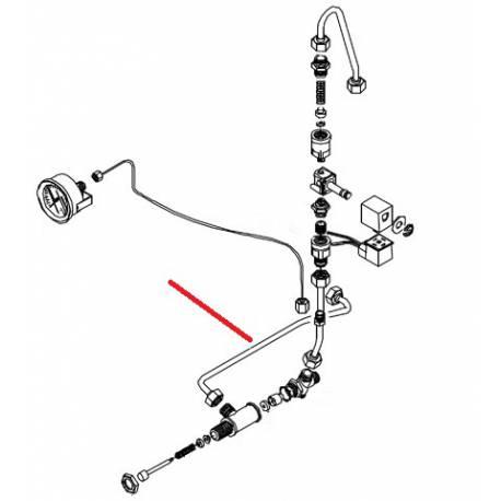 TUBE CHARGEMENT MANUEL ORIGINE BEZZERA - ERQ6694