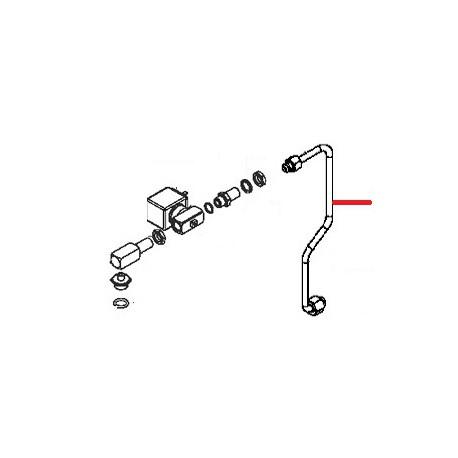 TUBE ALIMENTATION ROBINET EAU ORIGINE SIMONELLI - FQ6118