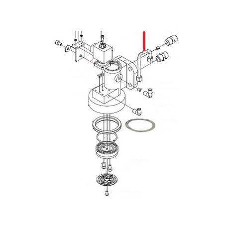 TUBE GROUPE LATERAL ORIGINE SIMONELLI - FQ6254