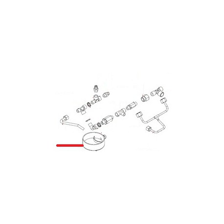 CUVETTE VIDANGE RONDE ORIGINE SIMONELLI - FQ6281