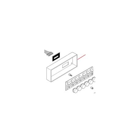 BOITIER CLAVIER VIDE ORIGINE ASTORIA - NFQ60828660