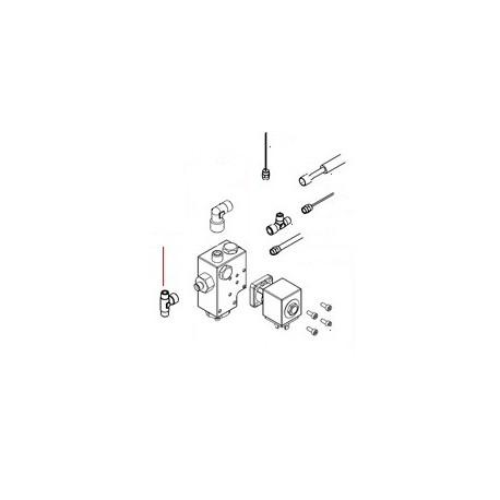 RACCORD EN T 1/8 M/F/M ORIGINE SAN REMO - FNAQ221