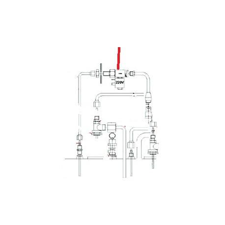 TUBE CHAUDIERE A EV ORIGINE FUTURMAT - NXQ758