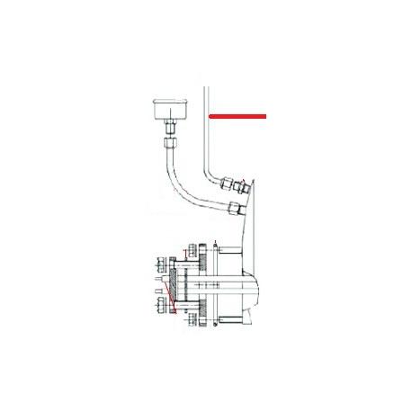 TUYAU CHAUDIERE ROBINET VAPEUR ORIGINE FUTURMAT - NXQ760