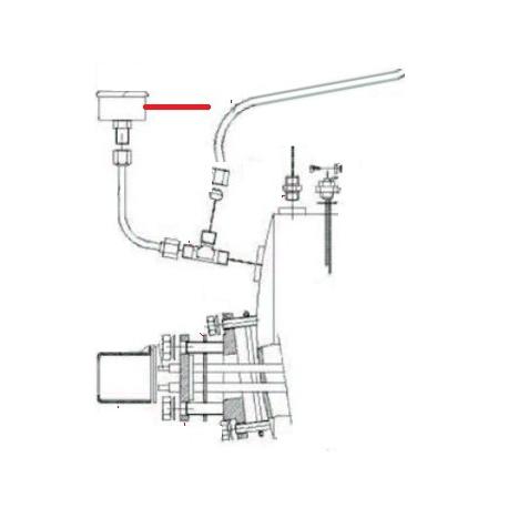 TUYAU MANOMETRE CHAUDIERE BRAV ORIGINE FUTURMAT - NXQ780