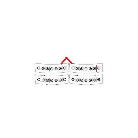MEMBRANE CLAVIER BRAVO AVEC PROGRAMMATION ORIGINE FUTURMAT - NXQ795