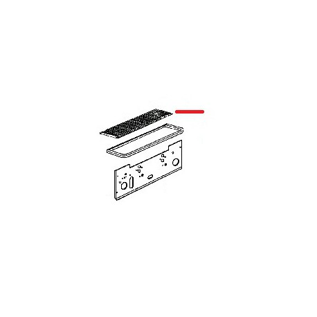 GRILLE EGOUTOIR 1GR ORIGINE VIBIEMME - IOQ059