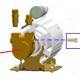 POMPE 100L/H ROTOR FEM. ORIGIN - RKQ641